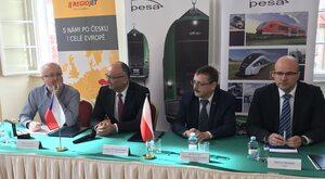 Polskie elektryczne pociągi wjadą do Czech. Pesa podpisała umowę z RegioJet