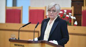 """Julia Przyłębska mocno odpowiada sędziom TK. """"Zarzuty uważam za..."""