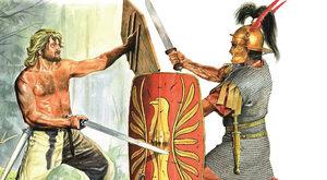 Bitwa w Lesie Teutoburskim. Zagłada trzech legionów
