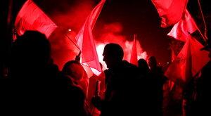"""Spalenie flagi Ukrainy prowokacją? """"Środowisko powinno oczyścić się z..."""